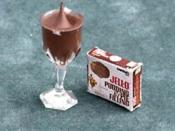 Jell-O brand chocolate pudding