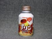 pudding shake (japanese strange drink)