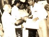 R.K.Sharmaaji awarded Manmohan Acharya in 1991