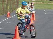 Trailnet's Bike Safety Rodeos teach bike handling skills.