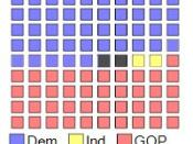 English: 111th Senate Seats -- HRC Vacancy Version