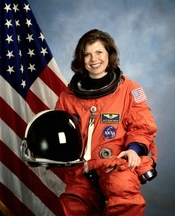 Astronaut Mary Ellen Weber, mission specialist.