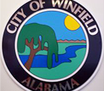 Official seal of Winfield, Alabama