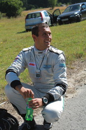 English: Petar Yordanov - bulgarian racecar co-driver Български: Петър Йорданов