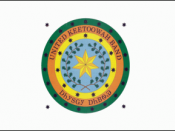 Flag of the United Keetoowah Band of Cherokee Indians Original graphics file for the official flag and seal of the United Keetoowah Band of Cherokee Indians of Oklahoma were created by James May. The seal and the flag were designed by Dr. May, working wit