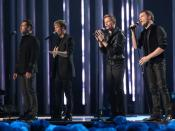 English: Westlife at The Nobel Peace Price Concert 2009