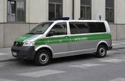 Deutsch: Ein Volkswagen Polizeibus in München.