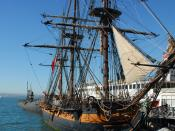 English: HMS Surprise (replica ship)