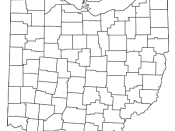 Locator map of the unincorporated community of McDermott in Scioto County, ,