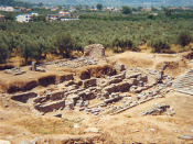 Ruins of Ancient Sparta, Greece.