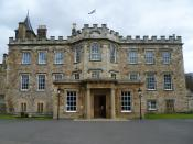 English: In the late 1930s, Philip Kerr, 11th Marquess of Lothian, bequeathed his house to the nation for the express purpose of creating a residential adult college to provide a non-vocational education for students of a working-class background. The Col