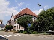 English: Hauingen: Astrid-Lindgren-School Deutsch: Hauingen: Astrid-Lindgren-Schule