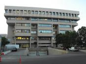 English: This is a picture of the Alberta Court of Queen's Bench, located at 1 Winston Churchill Square, Edmonton, Alberta. The Provincial Court Building is just to the north of the building in the aboce picture and is attached. The style is reminiscent o
