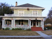 English: R.F. & Lena Burford historical home in Bell County