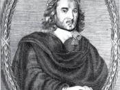 Thomas Middleton, depicted in the frontispiece of Two New Plays, a 1657 edition of Women Beware Women and More Dissemblers Besides Women