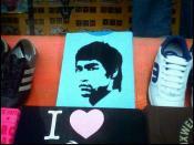 Bruce Lee Blue