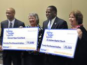 Columbia community receives $100,000 from Walmart's Fighting Hunger Together campaign