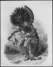 Crow Dog Dance, copy of illustration - NARA - 523666