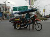 Dirt Bike Tuk-Tuk Conversion - Kalasin, Thailand