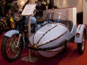 Wizard Sidecar and Motorcycle 2