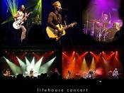 lifehouse [ music band ] concert