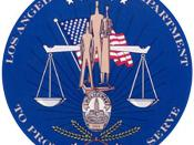 The Los Angeles Police Department seal