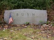 English: The headstone of Prescott Bush