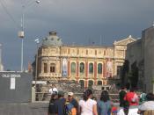 English: Palacio de la Autonomia de UNAM (Palace of UNAM's Autonomy) located off Moneda Street east of the Zocalo in Mexico City