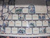 English: French porcelain board game, Victoria & Albert Museum