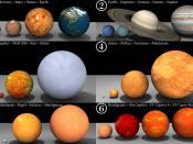 English: Français: Tailles relatives des planètes du système solaire et plusieurs autres étoiles connues.