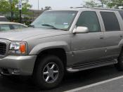 1999-2000 Cadillac Escalade photographed in Clinton, Maryland, USA. Category:GMT435