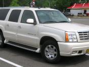 2003-2006 Cadillac Escalade photographed in USA. Category:Cadillac Escalade