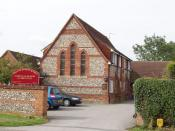 English: Former school now a care home in Longwick. Care home for the elderly