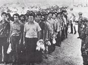 Greek Cypriot prisoners taken to Adana camps Turkey.
