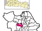Localização de Dukuh Pakis na cidade de Surabaia