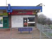 English: Pizza Hut - Bramley Shopping Centre