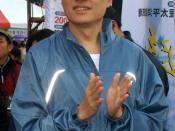 2008 Taipei County Jin Shi International Marathon: Ming-tsai Lo, a legislator from KMT in Taiwan.