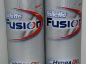 English: Gillette Fusion HydraGel
