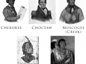 English: A collection of Public Domain images of the Five Civilized Tribes