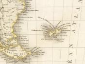 Español: Detalle de las Islas Malvinas en mapa francés de 1833