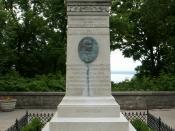 Laura Secord monument on Queenston Heights. Photo by Dickbauch.