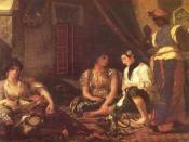 Delacroix, Femmes d'Alger dans leur appartement