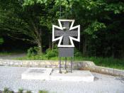 Monument near glogow malopolski commemorating jews killed by nazis