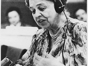 English: Franklin D. Roosevelt Presidential Library and Museum ID #65732 Eleanor Roosevelt at United Nations