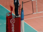 Volleyball referee