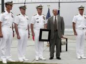 SECNAV Visit to WARCOM