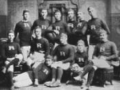 picture of 1882 Rutgers College Football team