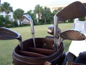 English: Golf clubs