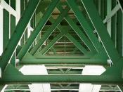 Structure du pont Corneille