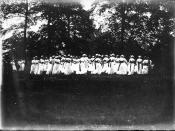 Western College on Tree Day 1914